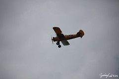 20160716-101858-IMG_0176 (zjernst) Tags: silhouette museum clouds virginia aircraft aviation military propeller biplane flyby 2016