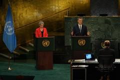 Global Townhall with UN Secretary-General candidates (Mogens Lykketoft, President of UNGA) Tags: newyork aljazeera un unitednations pga generalassembly secretarygeneral unhq pga70 nextsg