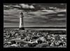 Perch Rock Lighthouse (ScreamingSkulls) Tags: niksoftware perchrocklighthouse mono newbrighton wirral mersey sthelenscameraclub ericmercer screamingskulls canonflickraward schnappschüsse2 dragongoldaward allbeautifulshotsandmanymore anythingyoulike landscape