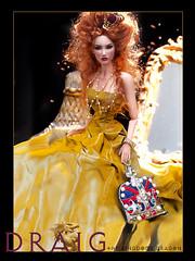 Draig - Dragon (kingdomdoll) Tags: fashion dragon royal kingdom fashiondoll draig fashiondollquarterly kingdomdoll