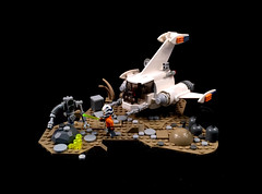 Sirius Cyberdine XJT6000 spacecraft (timhenderson73) Tags: custom lego moc spaceship star wars ahsoka tano jedi republic clone