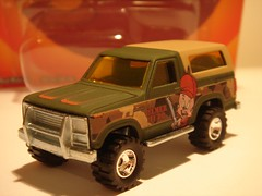 HOT WHEELS 1985 FORD BRONCO NO3 ELMER FUDD 1/64 (ambassador84 OVER 6 MILLION VIEWS. :-)) Tags: hotwheels 1985fordbronco diecast ford fordbronco elmerfudd