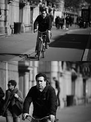 [La Mia Citt][Pedala] (Urca) Tags: milano italia 2016 bicicletta pedalare ciclista ritrattostradale portrait dittico bike bicycle biancoenero blackandwhite bn bw 872151