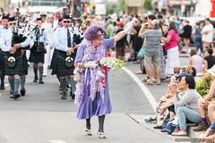 Edna 1 - Jacaranda Parade 2015 (sbyrnedotcom) Tags: 2015 people events grafton jacaranda parade rural town ednaeverage nsw australia