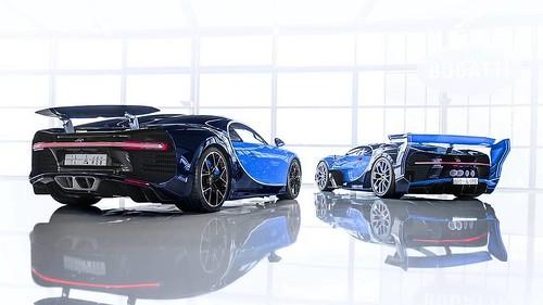 Bugatti Chiron и Vision GT