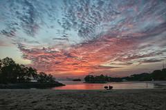 Sentosa Sunset (Cornelius Toh) Tags: singapore sentosa beach tanjong palawan dusk evening sunset