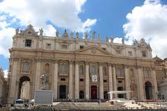 Basilica di San Pietro - Saint Peter's Church (Persephone_Grey) Tags: sanpietro saintpeter church basilica roma rome italy italia vaticano cittdelvaticano