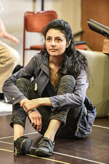 Shanaya Rafaat plays Lucie Rafaat (TheatreCloud) Tags: a tale two cities charles dickens twocitiestour uk theatre tour 2018 play adaptation rehearsals rehearsal shots first look james dacre