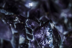 Ametista (elenaiacopelli) Tags: amethyst ametista gem rare rich expensive violet purple crystal museum wien science shiny mineral detail macro