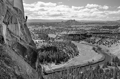 On Top of the World  [Explore] (Tom Fenske Photography) Tags: bend oregon smithrock wilderness rockclimbing