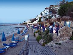 IMG_1888 (dorcolka011) Tags: zakintos zakynthos more sea greece grcka tsilivi summer leto sunset zalazak palme cvece palms flowers