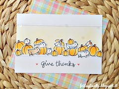 zucche e cricetini LF (fridayfinally) Tags: lawnfawnstamp lawnfawndies lawnfawn lawnfawnstamps iwheelielikeyoustampset happyharvest stitchedborders hamsters pumpkins lawnfawninks copicmarkers copic cutebackground distressink handmadecard givethanks happycritters critters