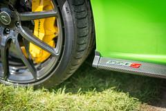 DSC_2077 (jonlarge) Tags: weekend 2016 beaulieu supercar supercars mclaren 650s green spyder spider wheel spoke brake caliper