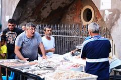 Faces of Piscaria, Catania's fish market (ciccioetneo) Tags: catania sicilia sicily italia italy piscaria fishmarket pescheria folklore nikond7000 ciccioetneo apiscaria nikon50mmf14 nikon2470mm28 street streetphotography
