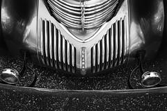 Car show at Cantigny - 2016 (SauceyJack) Tags: 1939 2016 auto automobile bw blackwhite blackandwhite bumper cadillac cantigny car carshow coupe fleetwood graham il ill illinois lrcc lightroomcc monochromatic monochrome park september transportation vehicle wheaton 40mmpancake 40mmf28 canon1dxmarkii