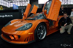 Saleen S7 at Javits Center for NY Intl Motor Show