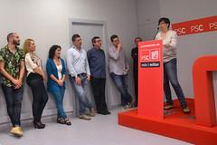 Acte de presentació de la candidatura