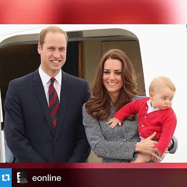 #Repost @eonline with @repostapp.・・・PRINCE GEORGE is going to be a big brother soon! Raise your hand if you have butterflies about another Royal Baby on the way 🙋