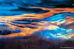 Rocky shore (bnilesh) Tags: sea abstract nature water horizontal landscape aqua stream waves wind outdoor air dramatic rocky surreal nobody shore dreamy layers ripples dreamlike wonderland liquid dreamland