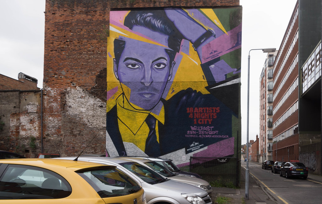 Street Art In Belfast [May 2015] REF-104694