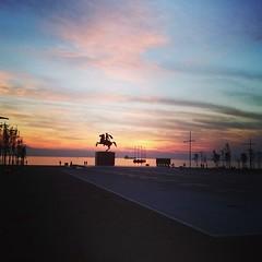 Thessaloniki (fil_____) Tags: sunset greece thessaloniki alexanderthegreat greekhistory neaparalia uploaded:by=instagram mythessaloniki