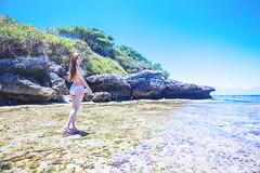 KUN_5642 () Tags: portrait woman cute sexy beach beauty lights nikon g wide wideangle bikini brunette charming swimsuit f4 vr 1635   1635mm        d3s   overpoweringthesun nikonafsnikkor1635mmf40gedvr   hsiaoliouciouisland   thebeautifulseascape