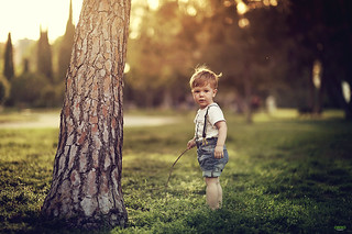 Kid and Tree