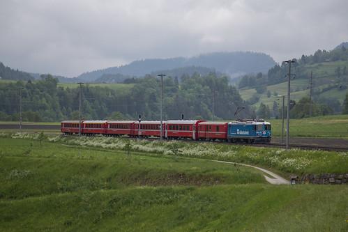 RhB Ge 4/4'' 619 Südostschweiz