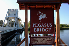 Pegasus Bridge Normandy (DSW Photography) Tags: bridge france remember respect para pegasus pride normandie remembrance normandy caen 1944 honour pegasusbridge privilage