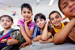Students from Askar School in Plaestine