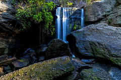 Flaggy Creek Falls  [Explored] (dean.white) Tags: australia newsouthwales nsw lakemacquarie newcastle kahibah glenrock conservation reserve flaggycreek waterfall catchment nd8 canoneos6d canonef24105mmf4lisusm explored