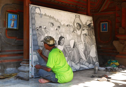 Traditional crafts of Bali