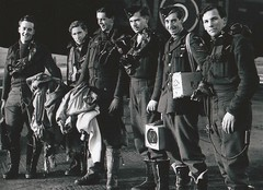 WWII P/O Lewis Burpee (RCAF) and dam busters (Matthew Burpee) Tags: blackandwhite ontario canada history military wwii lancaster peterjackson bombers dams rcaf dambusters burpee syerston thedambusters