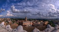 PanoCampidoglioHDR (ansacariofoto) Tags: italy panorama rome roma clouds nuvole vittoriano lovelycity atx116prodx tokina1116 nikond5000