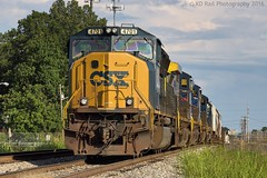 CSX Q582-16 at Tullahoma, TN (KD Rail Photography) Tags: emd electricmotivedivision ge generalelectric cw44ac sd70m sd402 ac4400cw c408w sd70ac trains railroads transportation smalltown smalltownusa tennessee middletennessee csx howtomorrowmoves qualityinmotion manifest diesellocomotive diesel locomotive