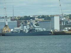 HMS Sutherland (mukaloon) Tags: hmssutherland water  waterfront waterfront royal navy harbour devonport type23 frigate warship