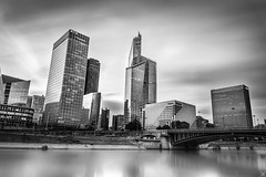 La Défense (tjwsphotographies) Tags: tjws nikon nikond610 d610 nd400 nd hoya hoyand400 filter neutraldensity neutraldensityfilter filtrend poselongue longexposure longue long pose pontdeneuilly tourfirst ladéfense ladefense defense seine fleuve riverbank rive iledefrance iledeputeaux ile 2016 92 paris urbain ville city cityscape nuages eau bureaux building gratteciel courbevoie puteaux coeurdefense quartierdaffaires quaisdeseine quais 2485mm 2485 24mm