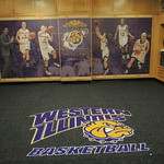 Women's Basketball new carpet