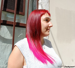 Pink leopard (wip-hairport) Tags: portugal lisboa lisbon wiphairport wip hairport salon hair stylist cut haircut hairdresser hairlove hairstyle style fashion inspire original creative alternative artist professional newlook shape personalized color haircolor longhair shorthair newhair newstyle hairoftheday pink pinkhair leopard design