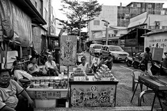 Afternoon Chat, Lukang. (leopc.lin) Tags: auto 28mm nikkorh f35 nonai