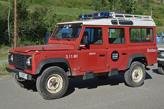 Bombers d'Espot (bleulights) Tags: rescue del rover land feuerwehr bomberos firefighters fuoco bombers defender pompiers despot vigili suhiltzaileak 31190