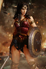 Wonder Woman (kevchan1103) Tags: square enix play arts kai batman vs superman dawn justice bvs wonder woman diana prince gal gadot toys action figure