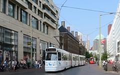 Den Haag - The Hague Kalvermarkt HTM 3126 Novo Nordisk (GeRiviera) Tags: netherlands nederland dutch holland straat street den haag the hague kalvermarkt trasportopubblico tram tramvia tramvaj tranvia transportspublicspayants publictransport