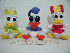 BEBEK DONALD DUCK VE DEYZ  (4) (rgantam) Tags: babyduck amigurumi rgoyuncak handmade elemei doalama