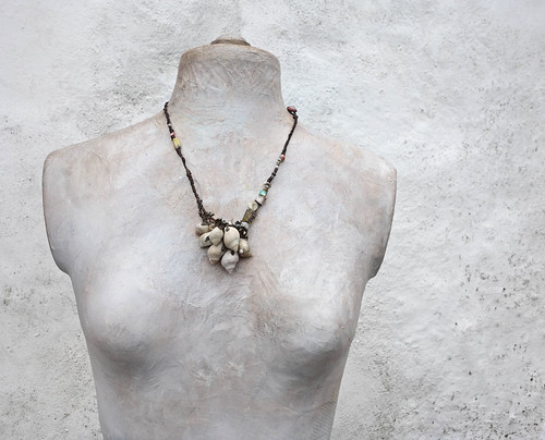 a beachcombers pocketful necklace by greybirdstudio