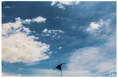 Cerf volant sur ciel azur - Kite on blue sky Le bonheur est sur la plage - happiness is on the beach - Beauduc - Camargues - 13 (J oSebArt's Pictures) Tags: 2013 lightroom photoshop adobe ef18135 canon650d 650d canon summer cloudporn skyporn cielo sky clouds nuages ciel mer sea plage sable sand camping sauvage tellines landscape paysage beauduc saintesmariedelamer camargues bouchesdurhone provencealpescotedazur sudest francesudest france camargue paradis surf kitsurf kitsurfeur lagune piemanson cabanon