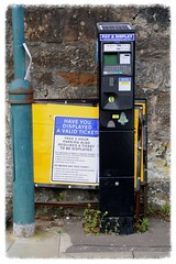 Pay As You Go . . . After Two Hours! (Paris-Roubaix) Tags: kirkintilloch masterplan cowgate townhead east dunbartonshire car park charges