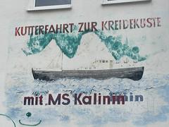 DDR Hausbemalung im Hafen von Sassnitz (Corno3) Tags: ostsee ddr sassnitz rgen mecklenburgvorpommern deutschland de