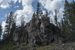 "Rock formation on Mallard Lake Trail • <a style=""font-size:0.8em;"" href=""http://www.flickr.com/photos/63501323@N07/28794506076/"" target=""_blank"">View on Flickr</a>"