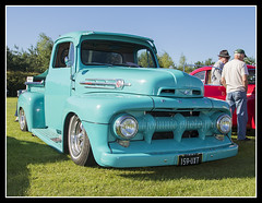 IMG_0022 1951 Ford F-100 Pick Up (scotchjohnnie) Tags: croftnostalgiaweekend2016 croftnostalgiaweekend croftnostalgiaevent croftcircuit croft historiccars transport vehicle ford americanclassic americanford vintagecar veterancar pickuptruck classiccar canon canoneos canon7dmkii canonef24105mmf4lisusm scotchjohnnie